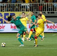 Göztepe - Fenerbahçe maçından kareler