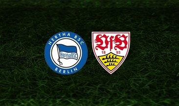 Hertha Berlin - Stuttgart maçı saat kaçta? Hangi kanalda?