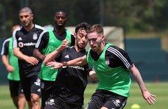 Beşiktaş hazırlıklarını sürdürüyor