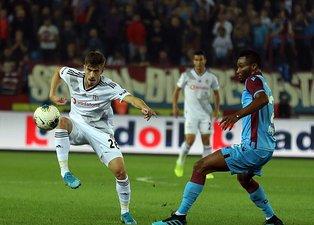 Trabzonspor - Beşiktaş maçından kareler...