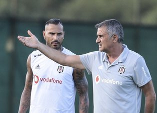Beşiktaşta Şenol Güneş ile Quaresma arasında özel görüşme!