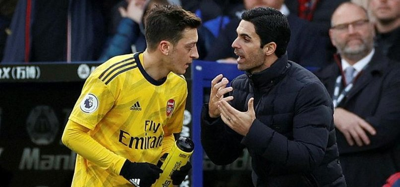 Mikel Arteta'dan Mesut Özil'e flaş yanıt!