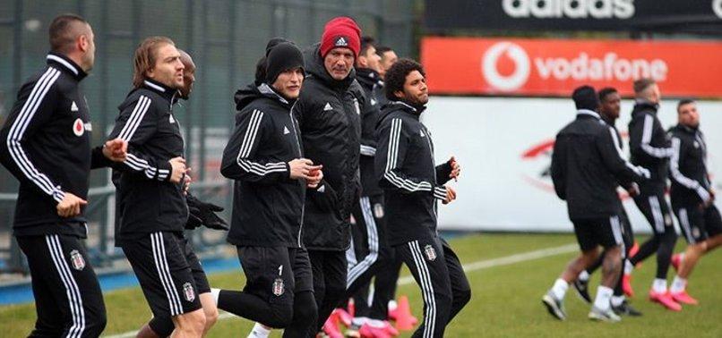 Beşiktaş Trabzonspor hazırlıklarına ara vermeden başladı