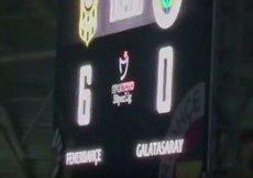 Malatyada G.Saraylı taraftarları kızdıran görüntü! 6-0...
