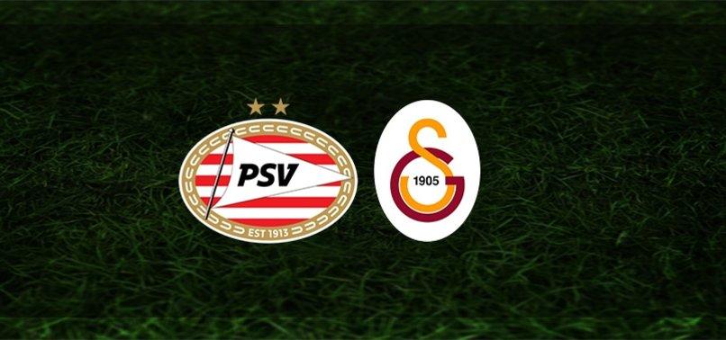 Son dakika Galatasaray maçı haberleri: PSV - Galatasaray maçı ne zaman, saat kaçta ve hangi kanalda? Şifresiz mi? Muhtemel 11'ler...