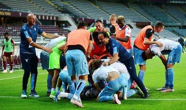 Lazio deplasmanda kazandı