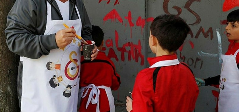 Galatasaray'da 23 Nisan coşkusu! Fatih Terim ve futbolcular...