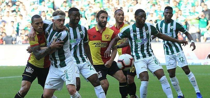 Bursaspor'un en kötü iç saha performansı