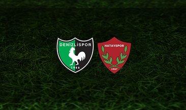 Denizlispor - Hatayspor maçı saat kaçta ve hangi kanalda? | Süper Lig