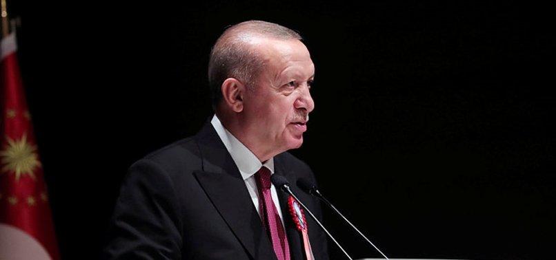 Başkan Erdoğan G.Saray'a başarılar diledi!
