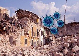 Corona virüsü salgını sonrası ilginç detay! Artık depremler...