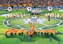 2018 Dünya Kupasının açılış seremonisinden renkli görüntüler