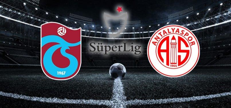 Trabzonspor - Antalyaspor | CANLI