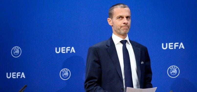 Ceferin'nden EURO 2020 açıklaması! 1 milyon dolara bahse girerim...