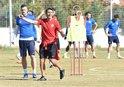 Antalyasporda Akhisarspor mesaisi sürdü