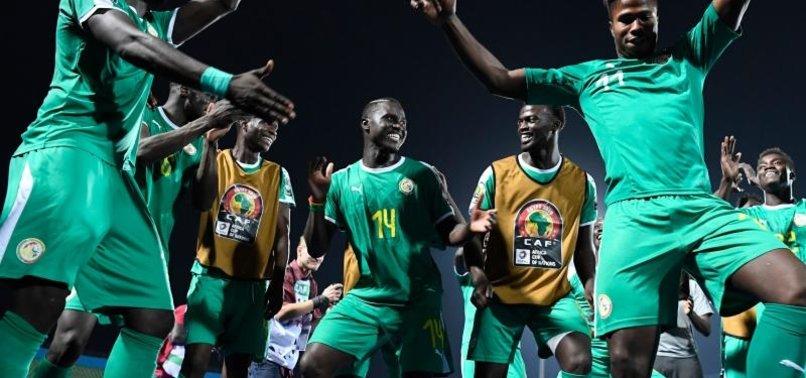 Senegal'de final sevinci
