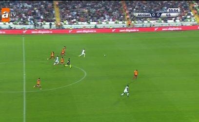 GOL | Akhisarspor 1-0 Galatasaray