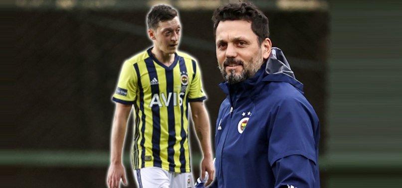 Erol Bulut'tan Karagümrük - Fenerbahçe maçı öncesi Mesut Özil sözleri!