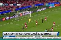 Galatasarayın Avrupadaki 275. sınavı