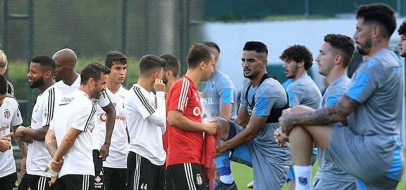 Beşiktaş ve Trabzonspor kadrolarını TFF'ye iletti