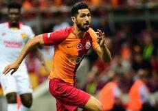 Emre Akbaba Galatasaray formasıyla sahada