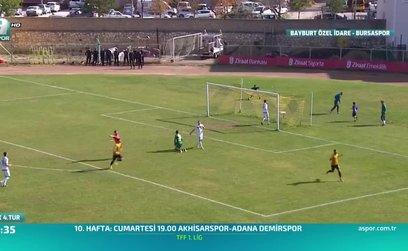Bayburt İl Özel İdare Spor 1-2 Bursaspor (ÖZET)