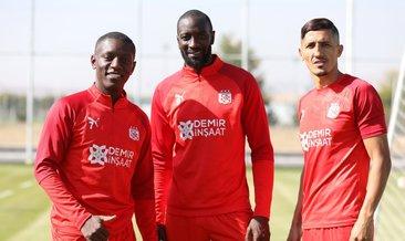 Sivasspor'da Villareal maçı hazırlıkları
