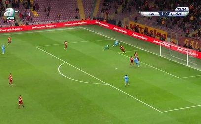 Galatasaray 1-1 Çaykur Rizespor