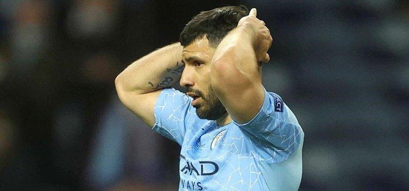 Manchester City Chelsea maçında Agüero son maçına çıktı! Gözyaşlarına boğuldu