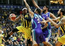 Fenerbahçe sahasında Afyonyu rahat geçti