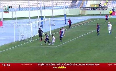 Kırıkkale Büyük Anadoluspor 0-4 Gazişehir Gaziantep