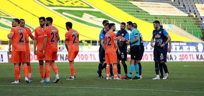 Çaykur Rizespor 0-2 Başakşehir (MAÇ SONUCU-ÖZET)