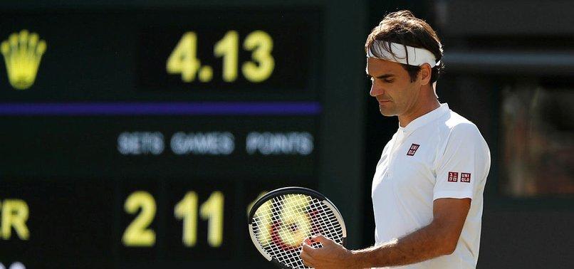 Federer  çeyrek finalde veda etti