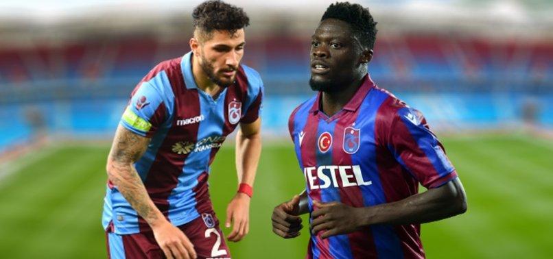 Trabzonspor'dan sakatlık açıklaması! Ekuban ve Kamil Ahmet...