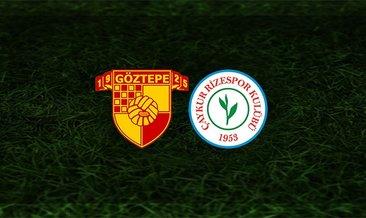 Göztepe - Rizespor maçı saat kaçta ve hangi kanalda?