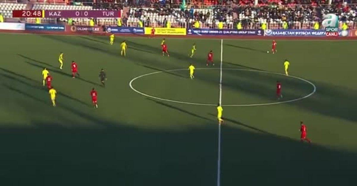Kazakistan U21 0-1 Türkiye U21 | MAÇIN TAMAMI