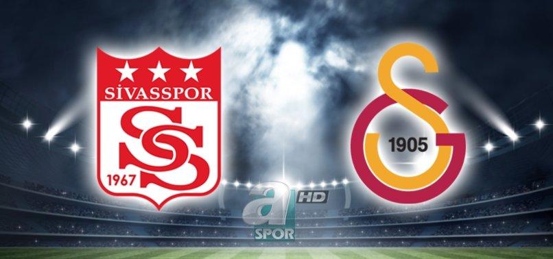 Sivasspor - Galatasaray maçı ne zaman saat kaçta hangi kanalda?