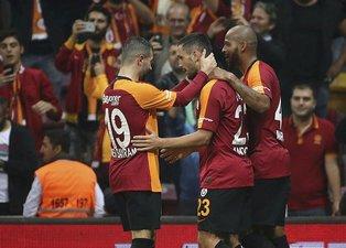Galatasaray-Sivasspor maçından kareler!