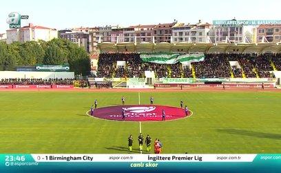 Kırklarelispor 0-0 Başakşehir | MAÇ ÖZETİ