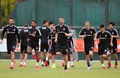 Beşiktaş çalışmalarına devam etti