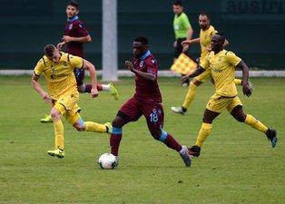Trabzonspor - Verona maçından kareler