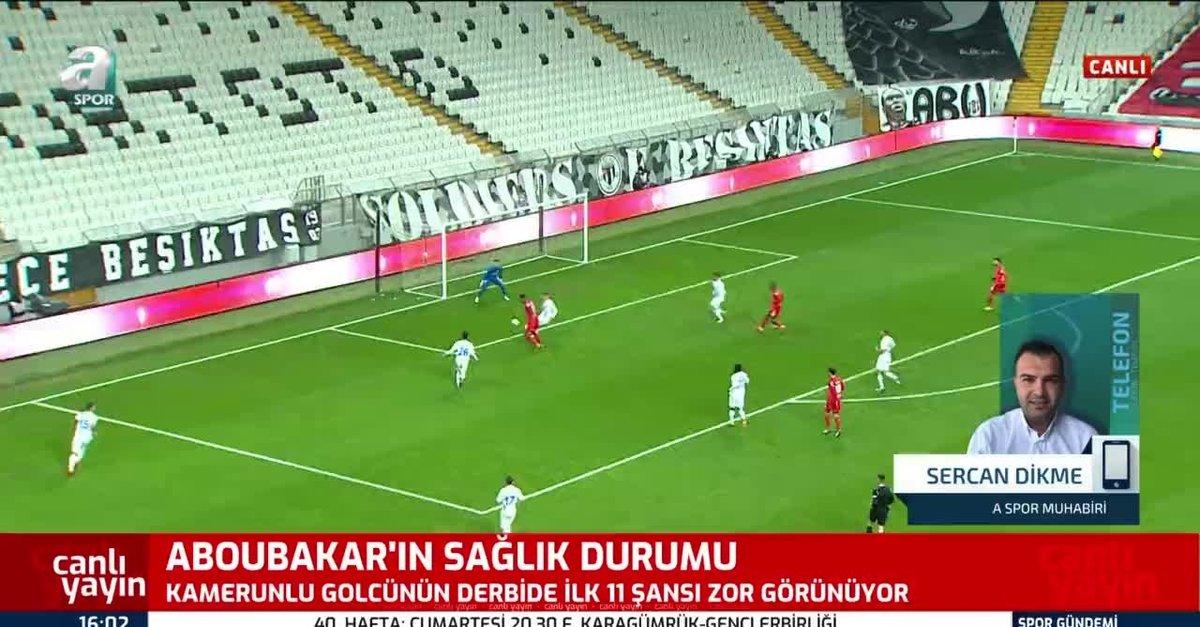 Beşiktaş'ta Aboubakar ve N'Koudou endişesi!