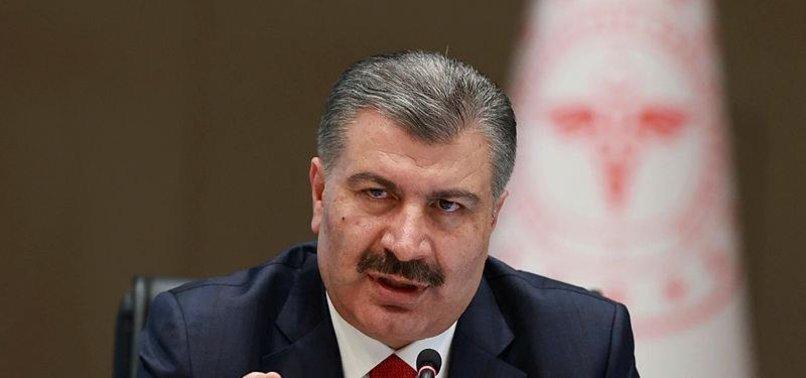 Sağlık Bakanı Fahrettin Koca vaka sayısını açıkladı