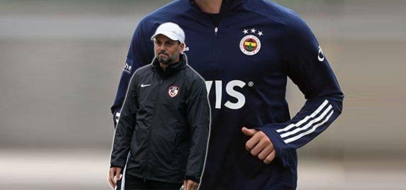 Gaziantep FK Teknik Direktörü Erol Bulut Fenerbahçe'den Sinan Gümüş'ü istiyor!