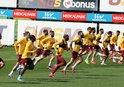 Galatasaray'da şok idman! Futbolcular...