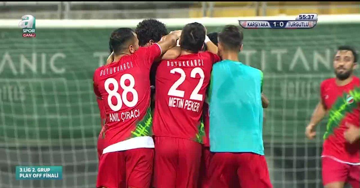 GOL   Karşıyaka 1-0 Turgutluspor