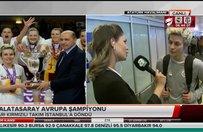 EuroCup şampiyonu Galatasaray yurda döndü