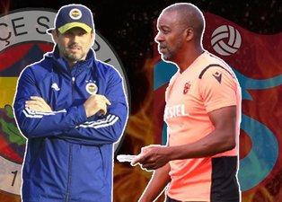 Fenerbahçe - Trabzonspor maçının 11'leri netleşti! Erol Bulut ve Eddie Newton...