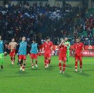 Türkiye Bosna Hersek maçından kareler