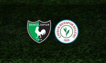 Denizlispor - Rizespor maçı saat kaçta ve hangi kanalda?